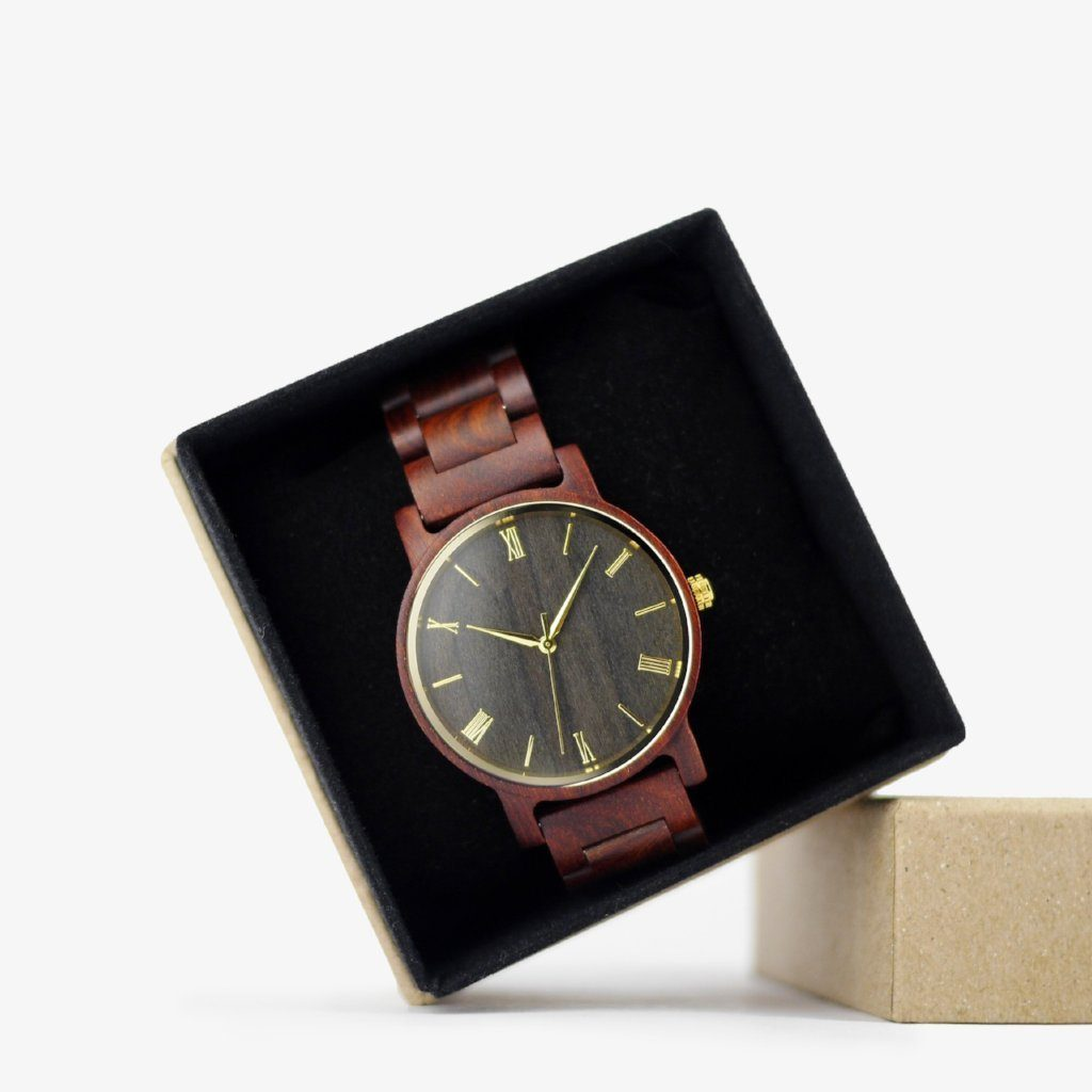personalized wooden watches