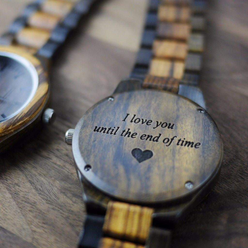 gift for him wood watch
