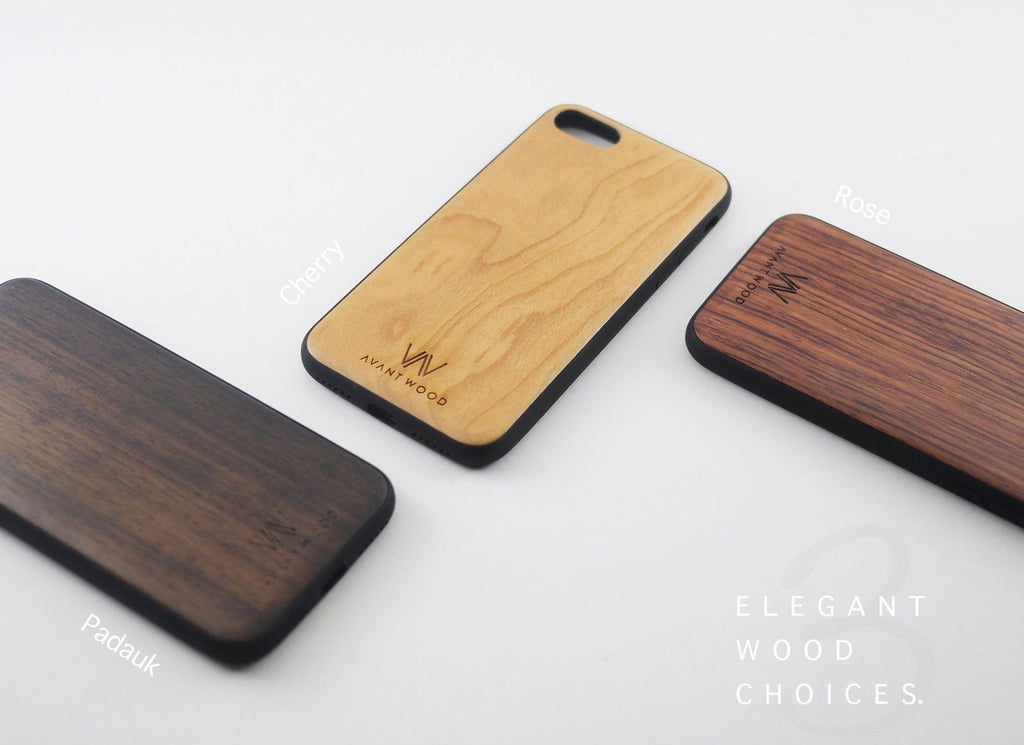 Premium Wood Case - Rose | Cherry | Padauk
