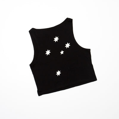 Women's Festival Crop (Black)