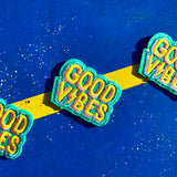 """Good Vibes"" Iron-On Patch"