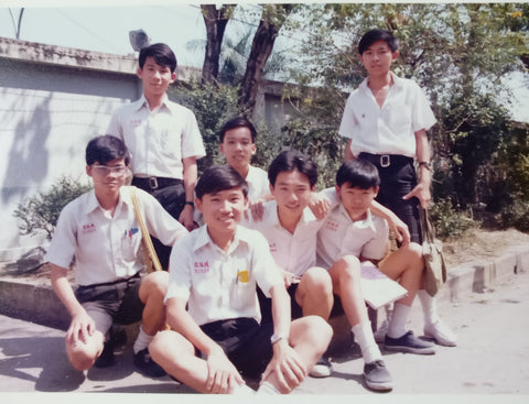 High school students in Bangkok in 1970's