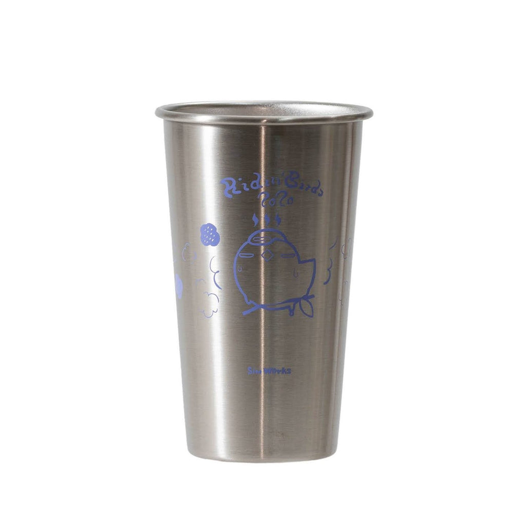 RIDIN' BIRDS Stainless Pint Cup