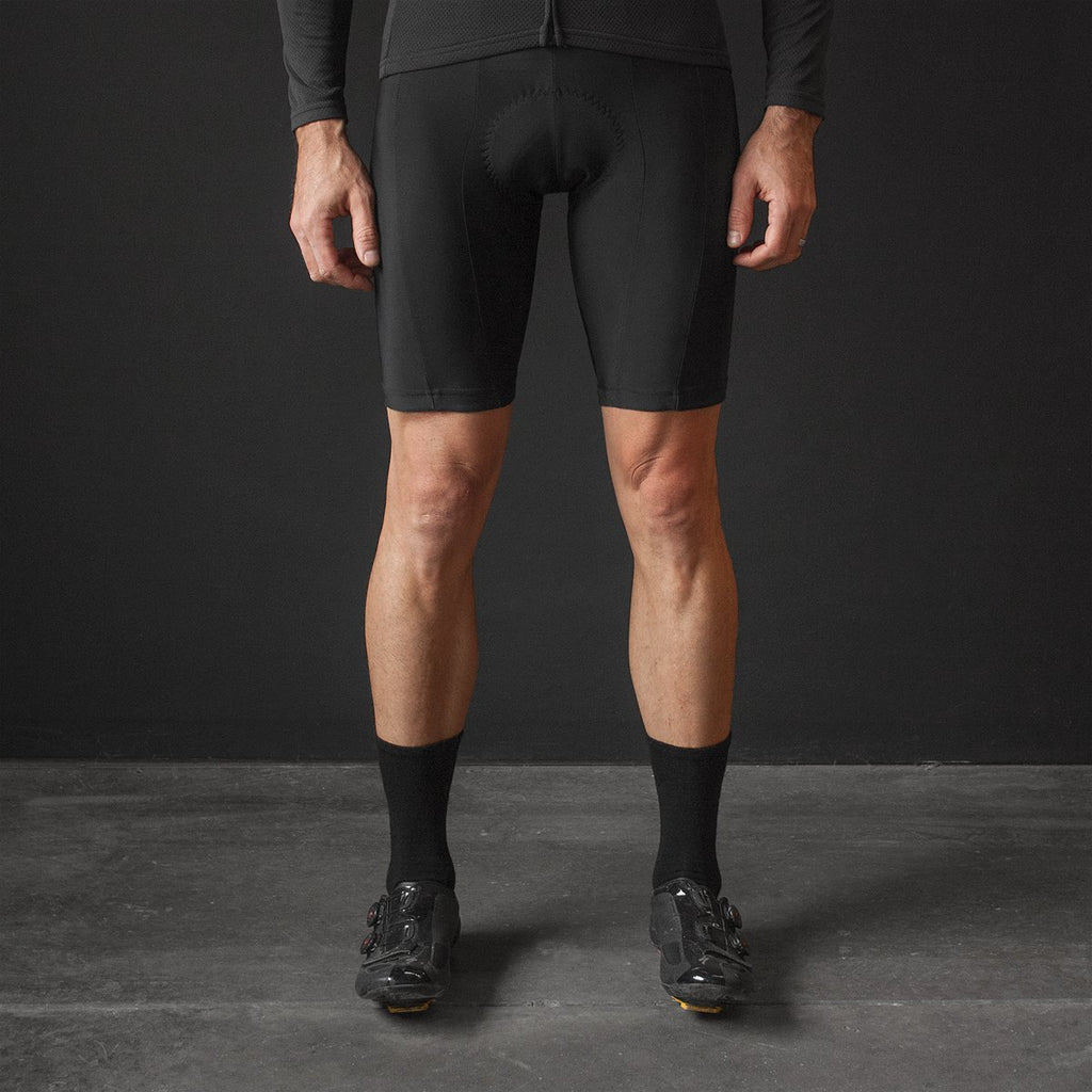 M's Black Bib Short