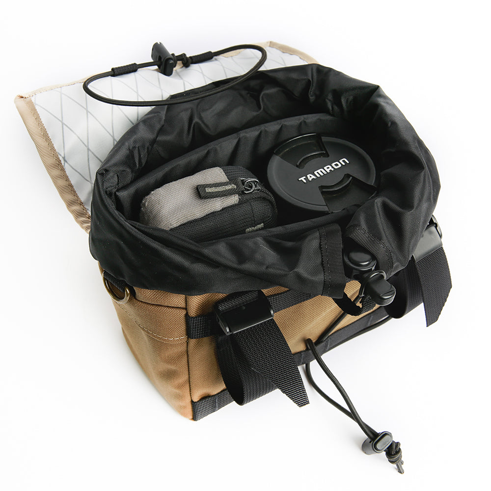 Camera Padding Insert (Drawcord Handlebar Bag)