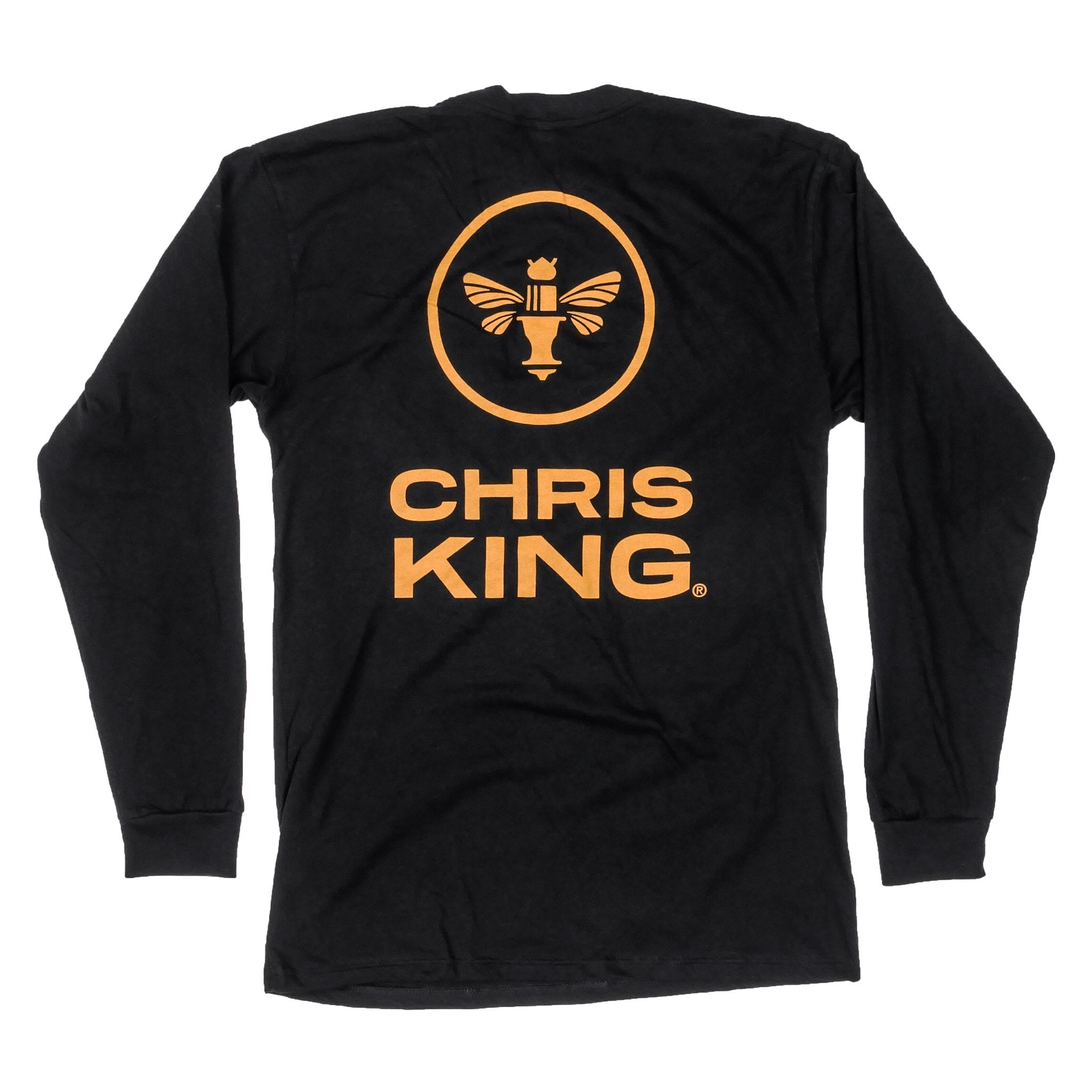 King Bee Logo Longsleeve Pockt T-Shirt
