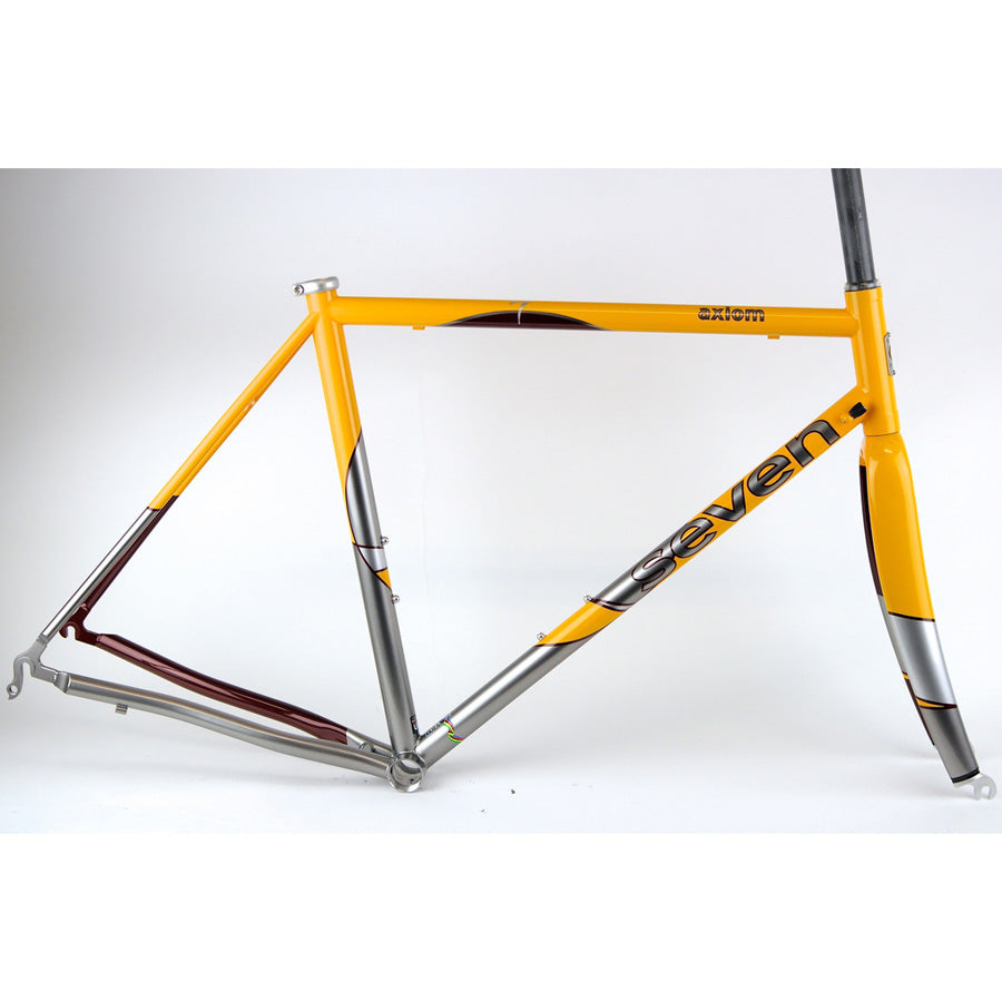 "Axiom ""The Circle"" CrMo Road Frame & Fork"
