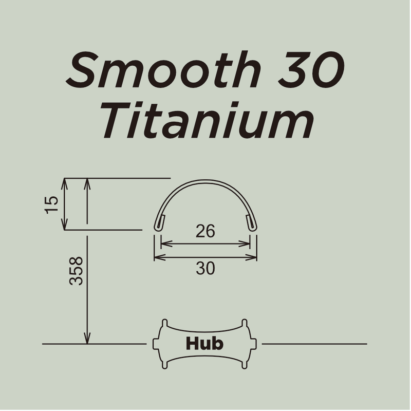 Smooth 30 Titanium