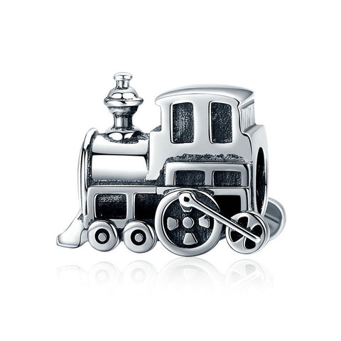 Sterling Silver Train Charm