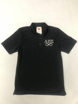 Alpha Pi Sigma Official Polo with Infinity Sign