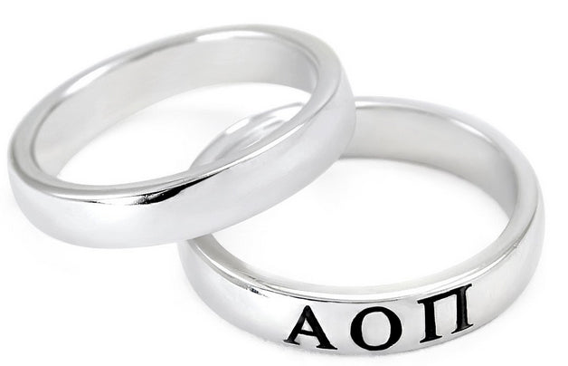 Alpha Omicron Pi Women's Ring