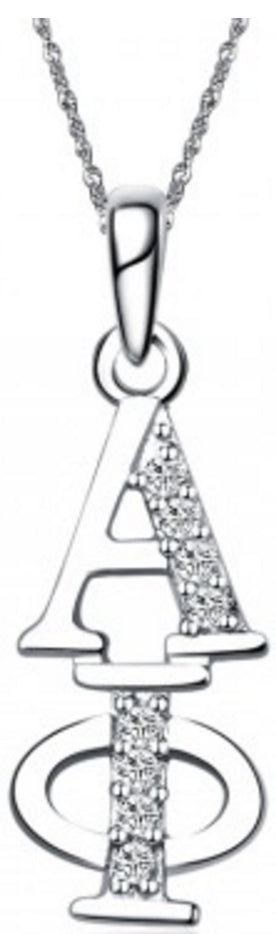 Alpha Phi Vertical (TY001) Pendant