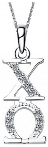 Chi Omega Vertical (TY001) Pendant