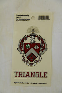 Triangle Decal Sticker