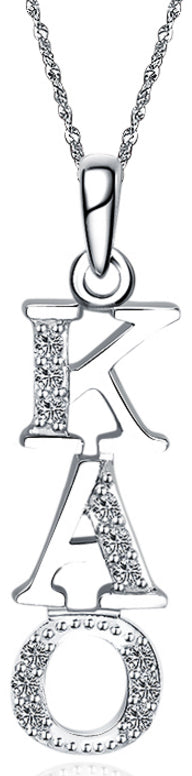 Kappa Alpha Order Vertical (TY001) Pendant