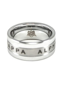 Kappa Alpha Tungsten Ring