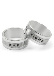 Kappa Sigma Tungsten Ring