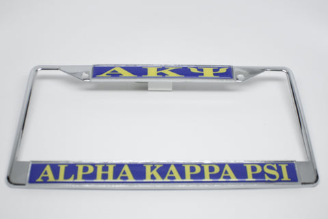 Alpha Kappa Psi License Plate Frame