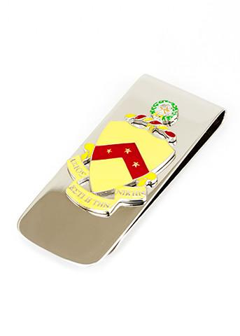 Phi Kappa Tau Coat of Arms Money Clip