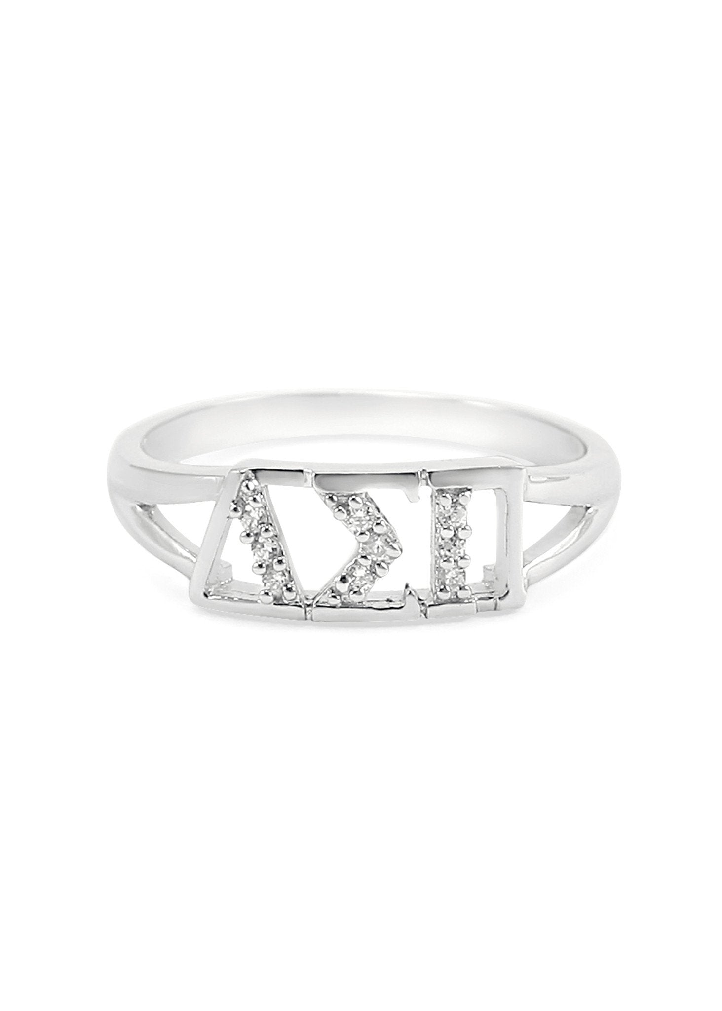 Delta Sigma Pi Horizontal Ring