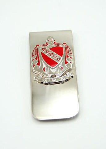 Tau Kappa Epsilon Coat of Arms Money Clip