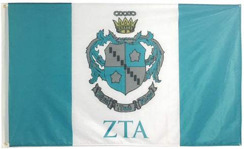 Zeta Tau Alpha Flag