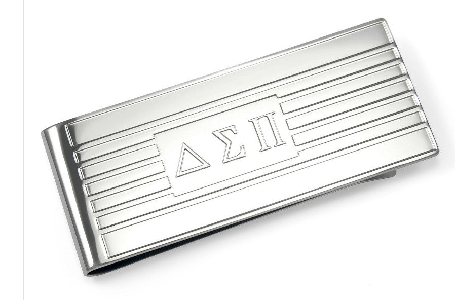 Delta Sigma Pi Money Clip