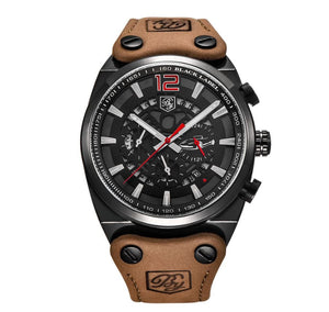 Large Leather Sport Mens Watch W367678