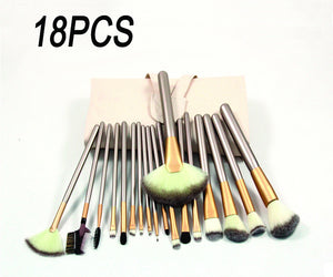 12/18/24pcs Makeup Brushes Professional With Kits M289017