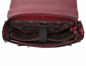Felix Retro Leather Laptop Cross Body Bag L278901