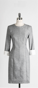 Grey Business Formal Dress C672893
