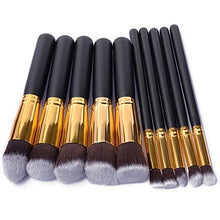 10 pcs Makeup Brush Set Cosmetic