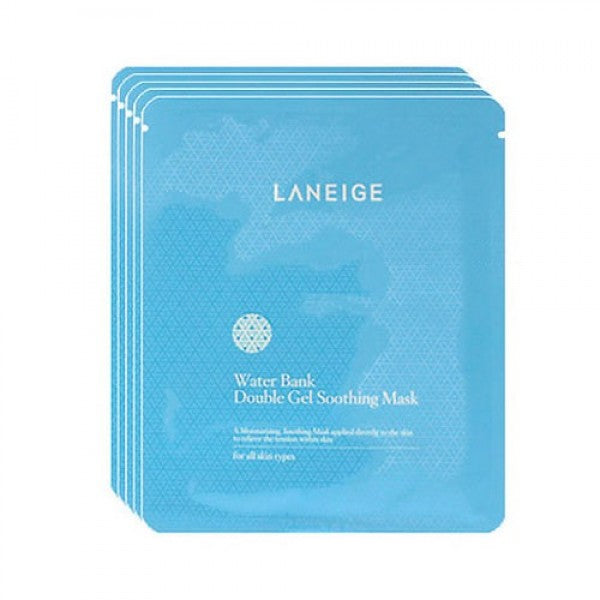 Laneige Water Bank Double Gel Soothing Mask (5ea)