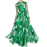 Banana Leaf Maxi Dress