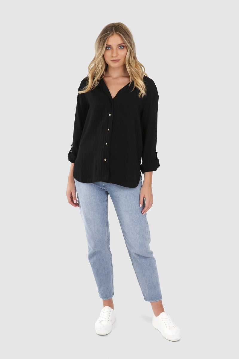 Sadie Shirt - BlubellaFashion