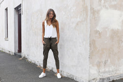 Dasha Slouch Pants - BlubellaFashion