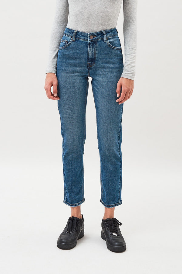 Edie Jeans - Summer Night Blue - BlubellaFashion