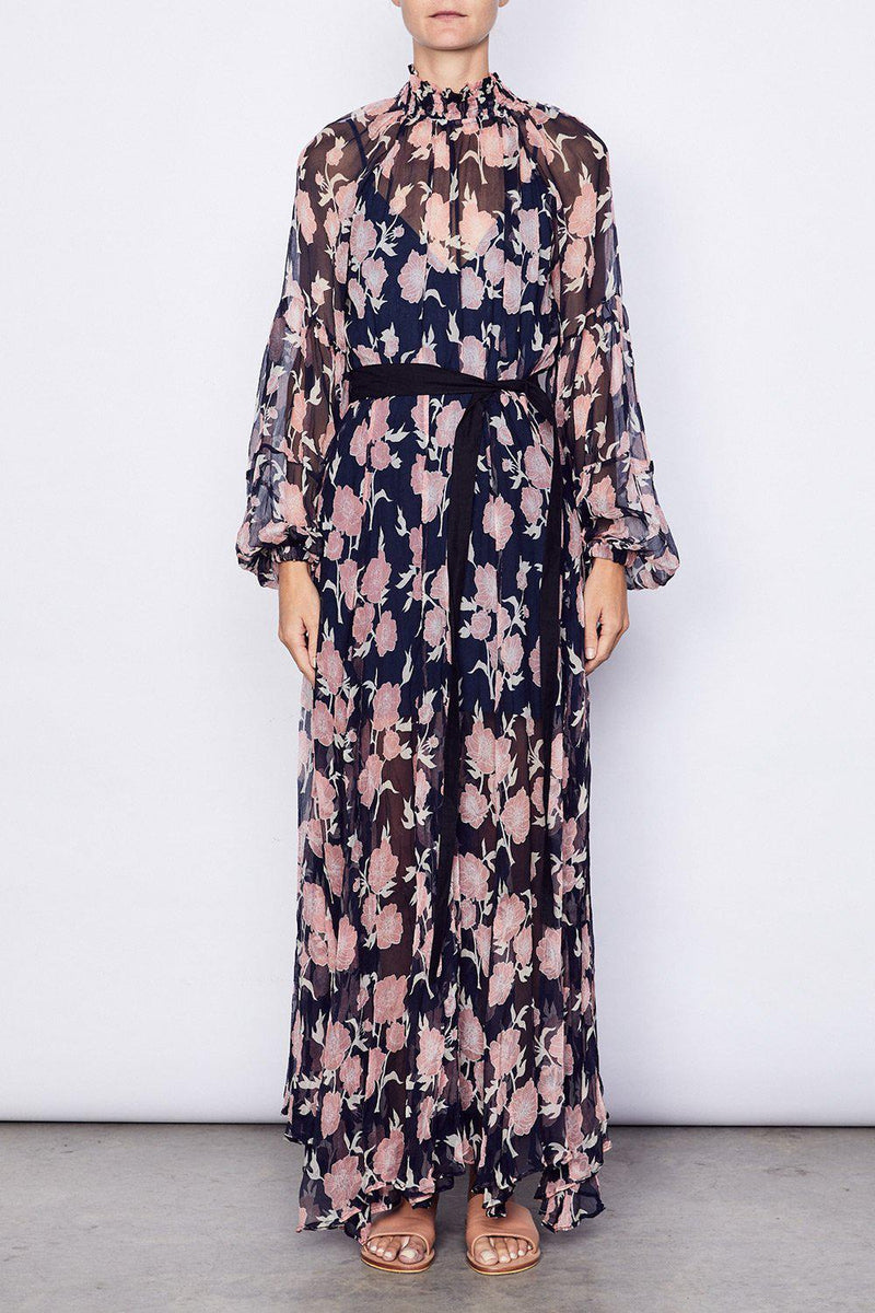 Aarons Gown - Navy - BlubellaFashion