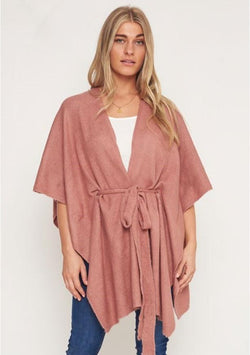 Cape Blush - BlubellaFashion