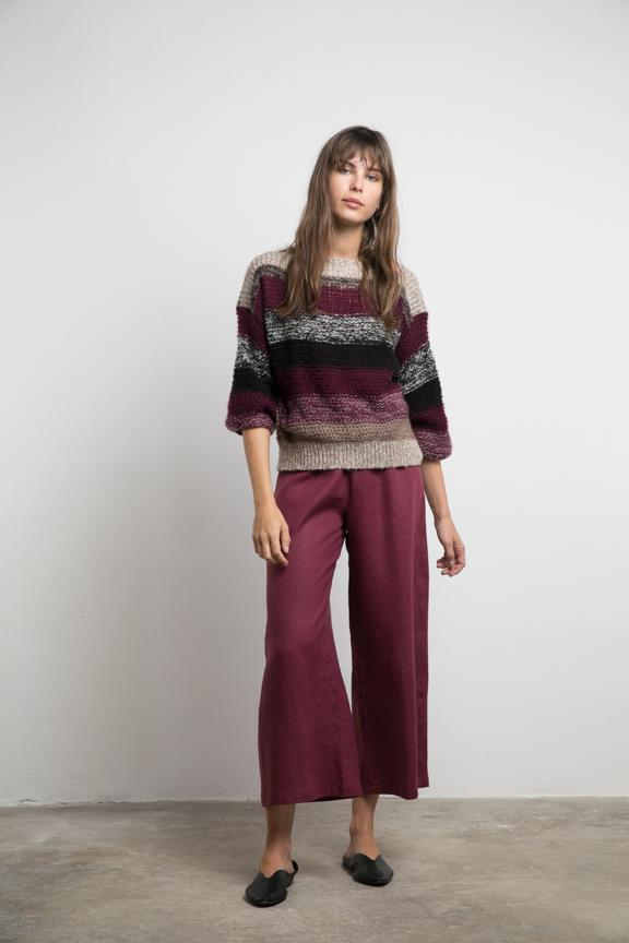 Dusty Culotte - Mulberry - BlubellaFashion