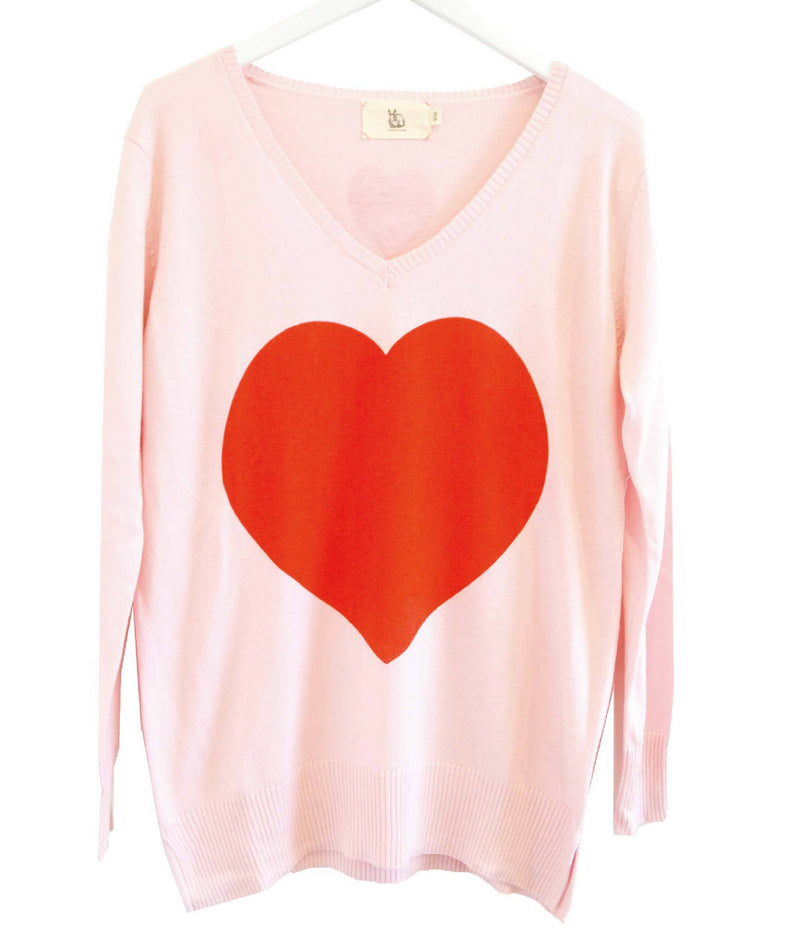 Heart Sweater - BlubellaFashion