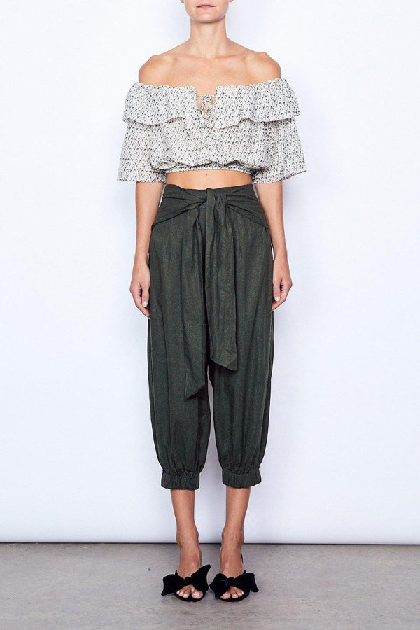 Interlude Crop Pant - BlubellaFashion