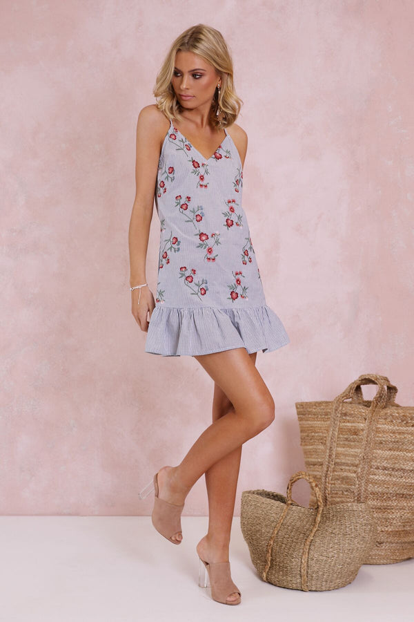 Jardin Shift Dress - BlubellaFashion