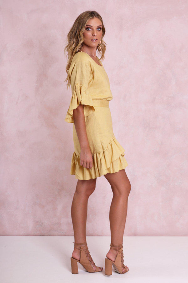 Karlie Wrap Dress - BlubellaFashion
