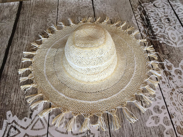 Large Sun Hat - BlubellaFashion
