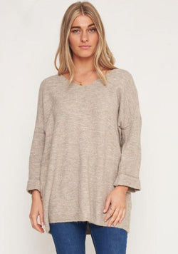 Long Line Jumper - BlubellaFashion