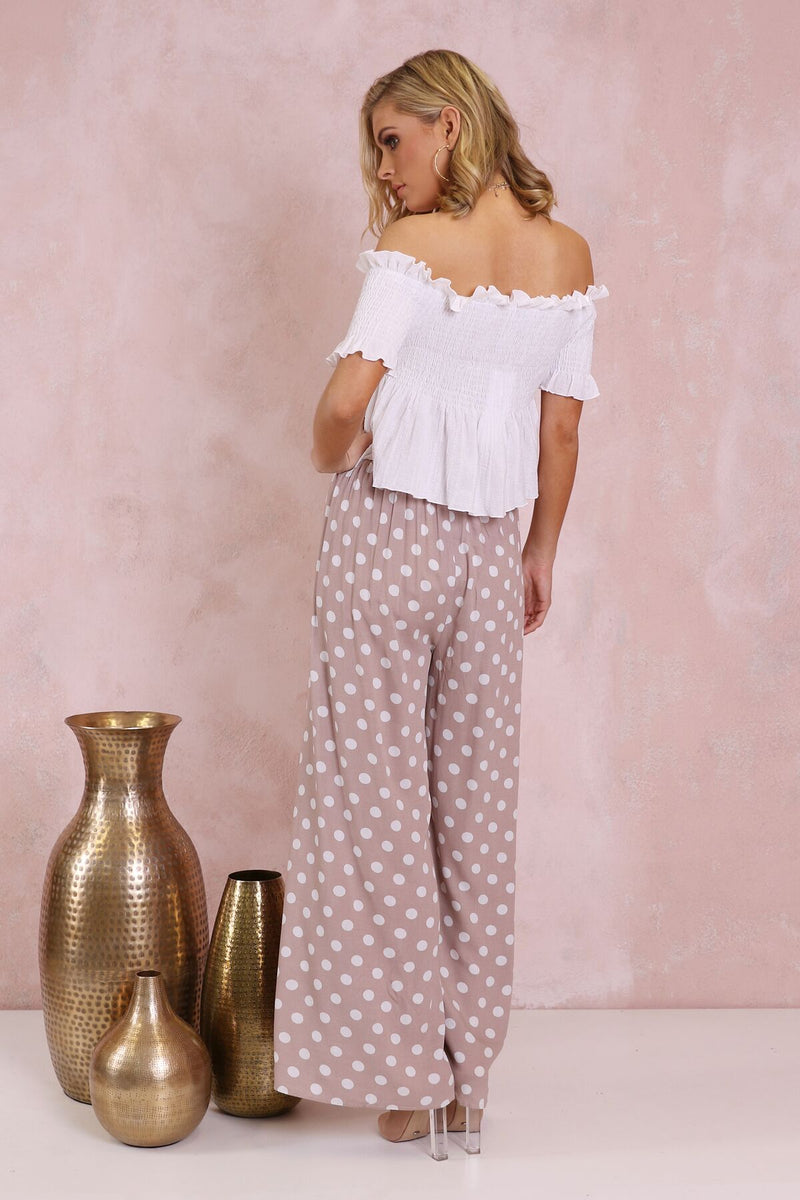 Luciana Polka Dot Pants - BlubellaFashion