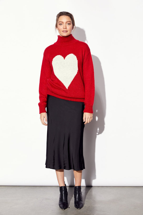 Heart Warmer Knit - BlubellaFashion