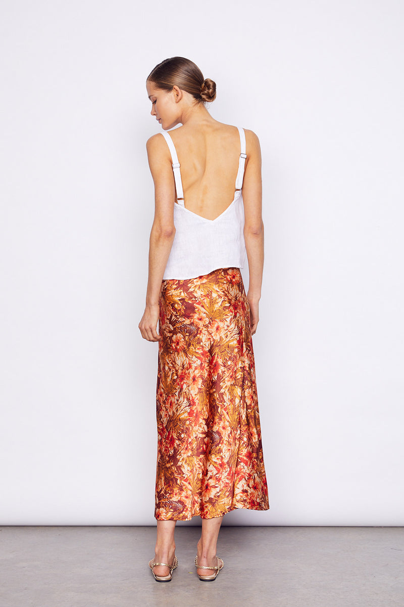Kingdom Slip Skirt - BlubellaFashion