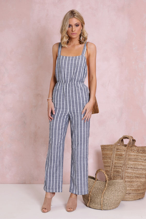 Parisian Playsuit - BlubellaFashion